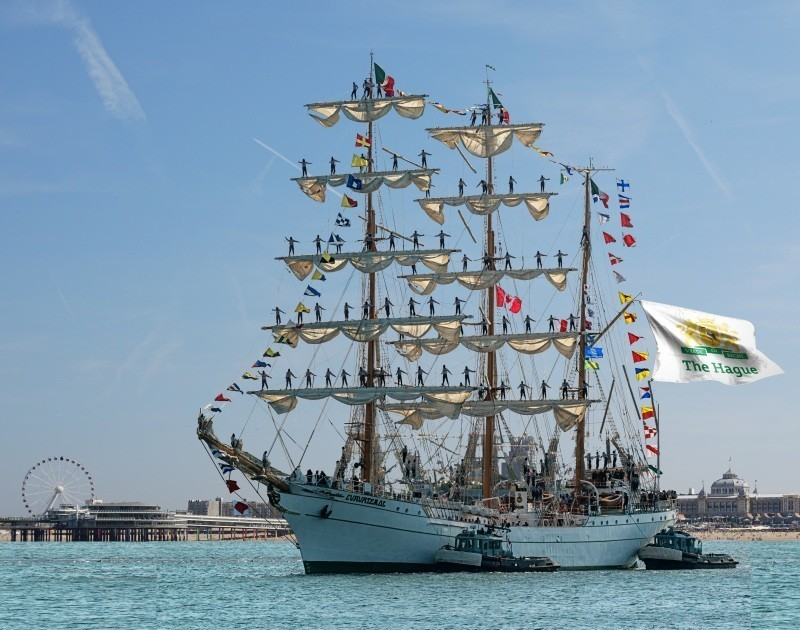 Sail op Scheveningen tall ship